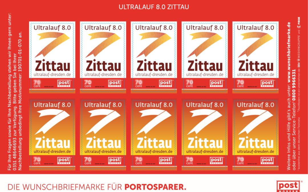 Die Ultralauf 8.0 Briefmarke