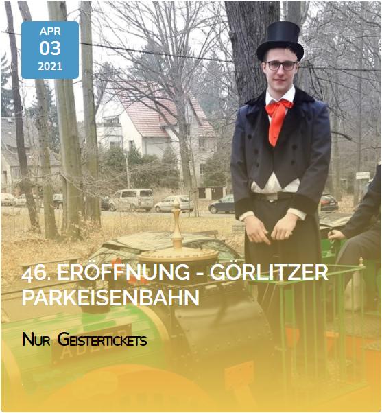 Spendenziel 2021/22 – Görlitzer Parkeisenbahn