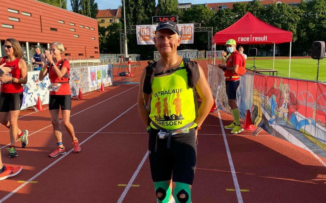 Ultraläufer beim Mauerweglauf 2021